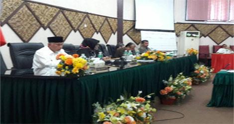 Beberapa Fraksi Di DPRD Kota Padang Terkesan Menolak Revis KTR