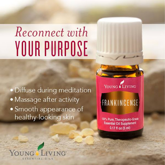Reconnect with the Ancient Oil Frankincense...