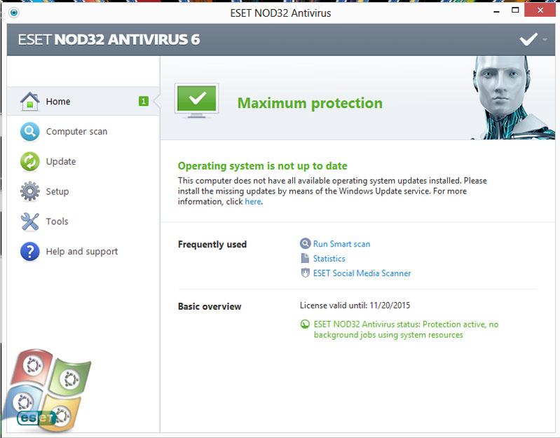 Download Antivirus Eset NOD32 Full Version
