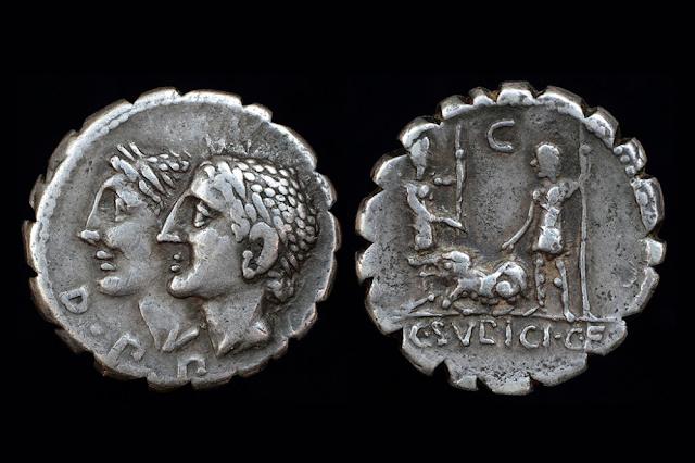 Numismatica│Moedas relevam traços importantes do Império Romano