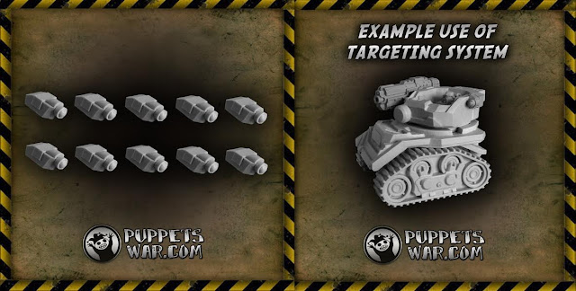 Puppetswar - Science Fiction Targeting Systems