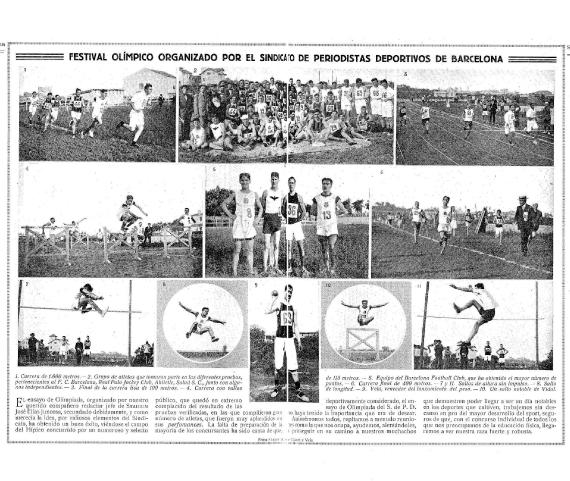 Sindicat, Periodistes, Esporti,, Festival Olímpic