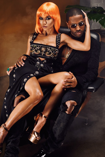 Jhene Aiko & Big Sean for Flaunt twenty 88