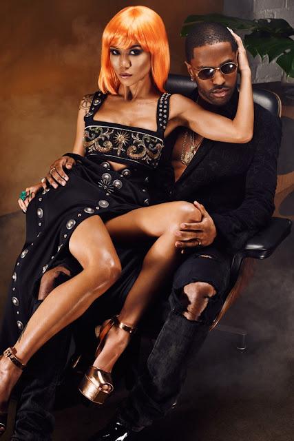 Jhene Aiko & Big Sean for Flaunt twenty 88