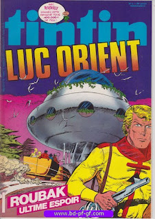 Tintin- numéro 3, année 38, 1983, Luc Orient