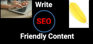 Write Seo friendly content