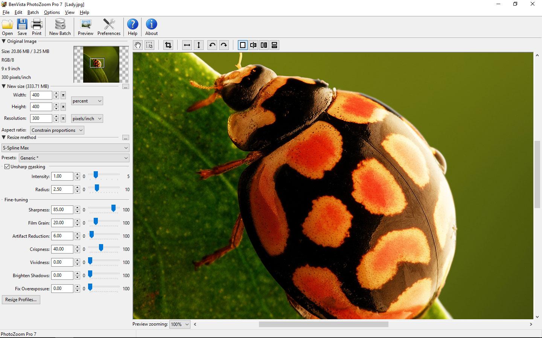 تحميل برنامج تكبير الصور وتوضيحها بدون تشويش