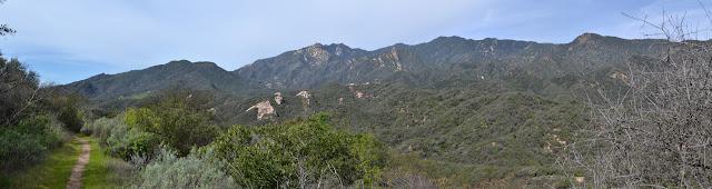 peaks and ridge