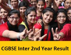 CGBSE Inter 2nd Year Result 2017