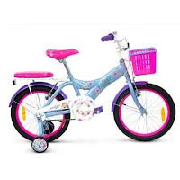 Sepeda Anak Wimcycle Frozen CTB 18 Inci Lisensi New