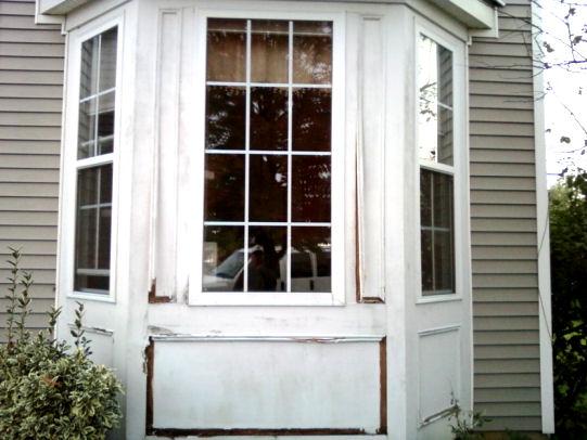 Nj Home Improvement Blog Bay Window Wood Trim Replacement