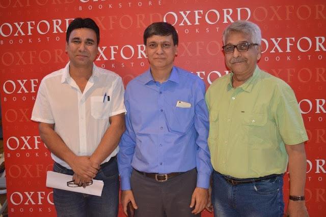 L-R Darain Shahidi , Shazi Zaman,Madhukar upadhyay