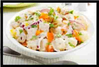 Easy Potato Salad Recipe with Mayonnaise Dressing