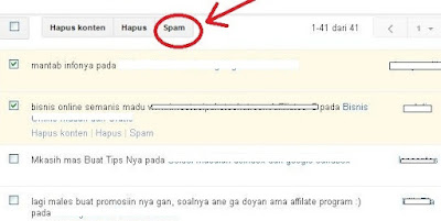 Dapak Komentar Spam Sangat Buruk Untuk Seo Blog