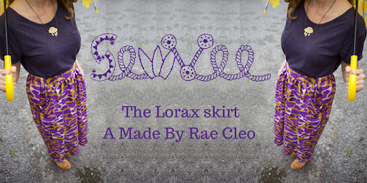 The Lorax Skirt, a Made By Rae Cleo