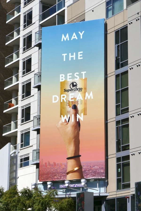 Food, drinks and lifestyle billboards filling L A 's May 2018 skies