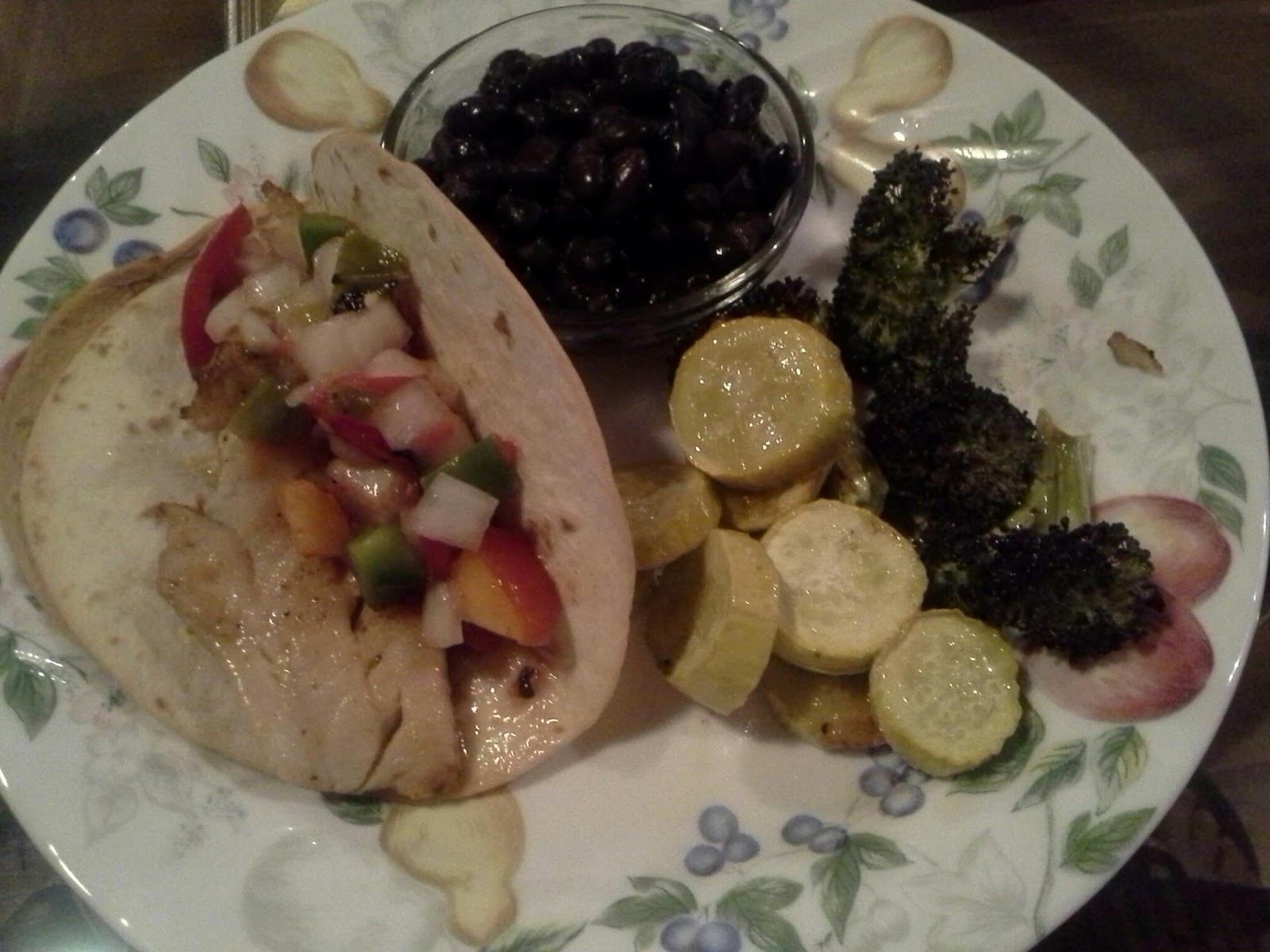 What S In The Box Fish With Fruit Salsa
