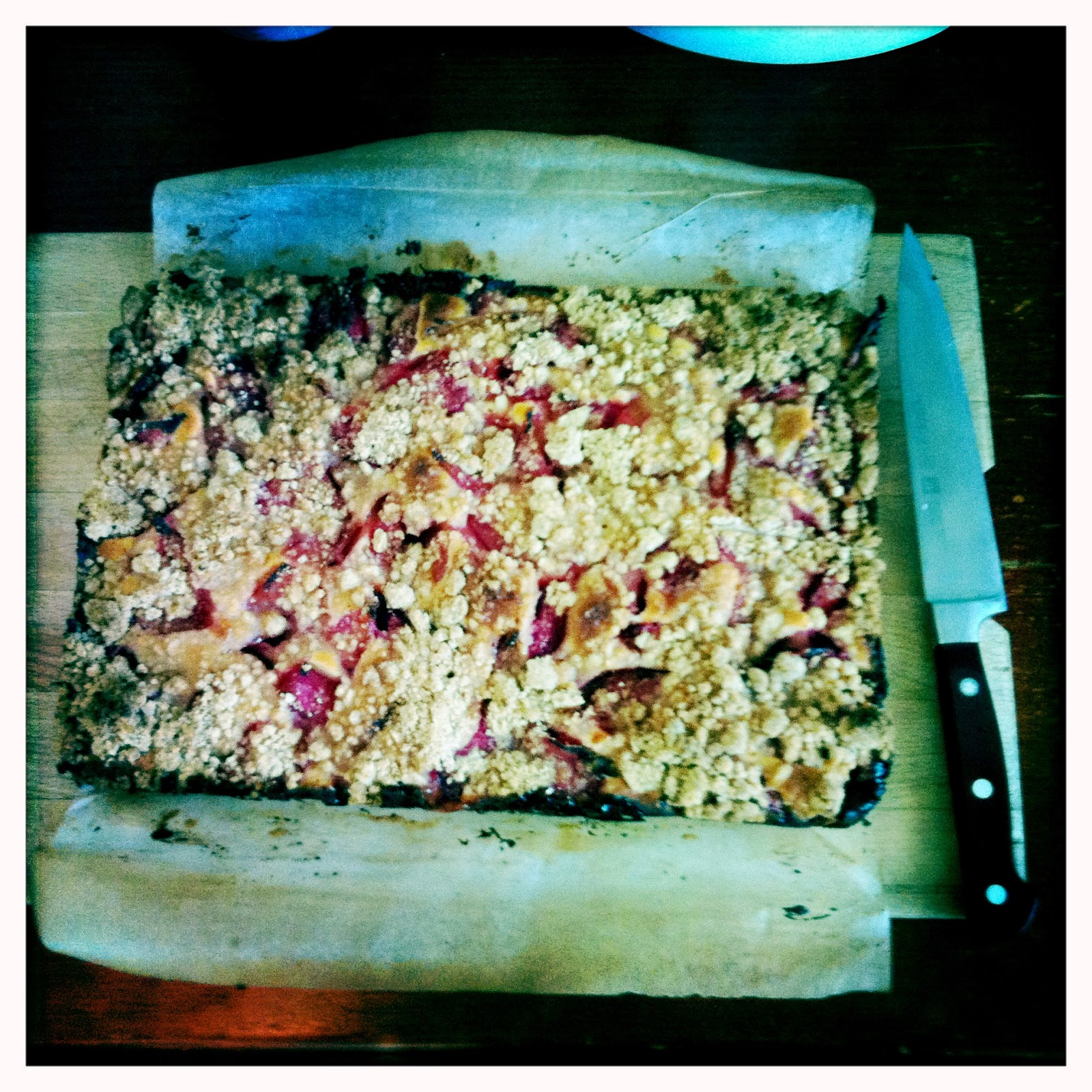 Alice Bakes A Cake Rhubarb Snacking Cake