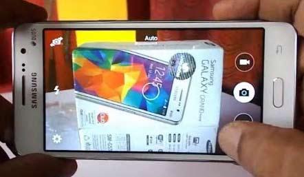 Inilah fitur kamera bagian depan Samsung Galaxy Grand Prime yang 8 mpx itu.  Gambar dari www.youtube.com