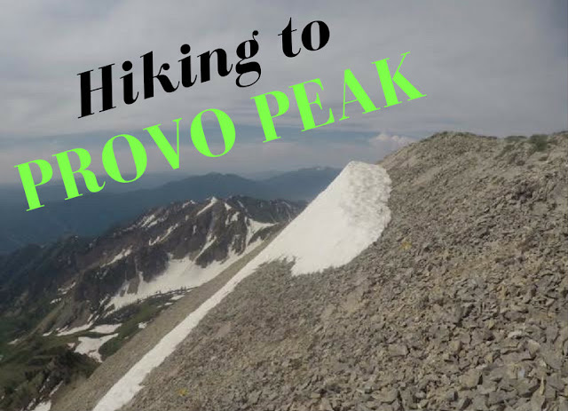 Hiking to Provo Peak