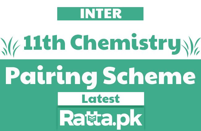 1st Year Chemistry Pairing Scheme 2020 - Assessment Scheme