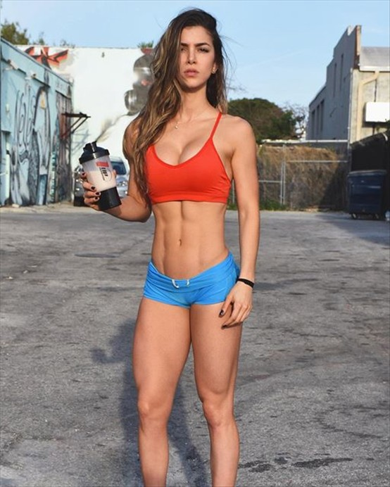 Colombian fitness Anllela Sagra, YOU WILL RETURN TO THIS ...