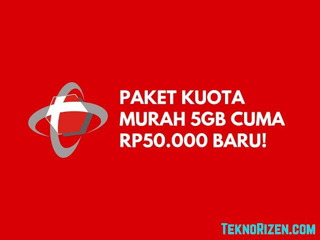 Beli Paket Telkomsel Murah Terbaru 5GB Cuma Rp50.000