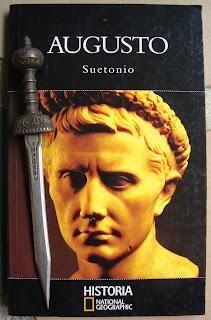 Portada del libro Augusto, de Suetonio