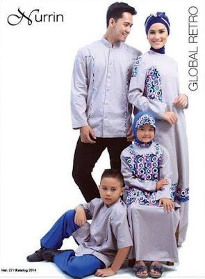 Model Baju Muslim Keluarga Untuk Pesta Formal Terbaru