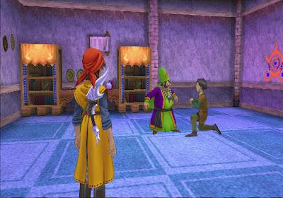 Dragon Quest VIII - El Periplo del Rey Maldito - David y Dominicus