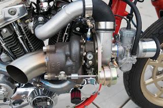 alpaca sportster ironhead turbo by dp customs turbo engine