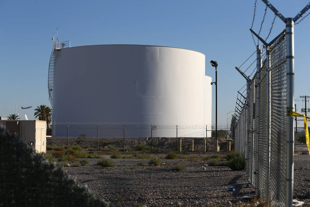 Kathryn S Report Jet Fuel Tank Targeted By Las Vegas