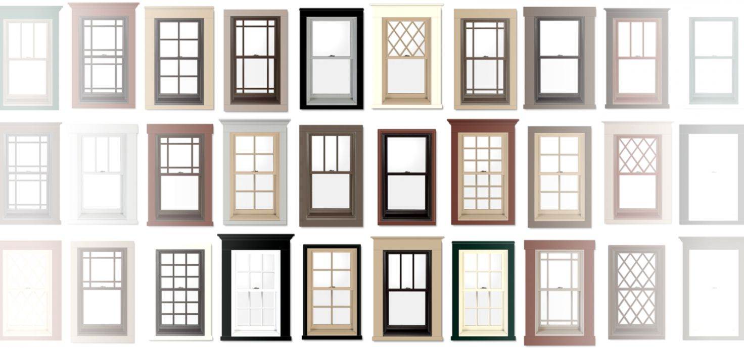 Stylish And Peaceful Home Window Designs Design
