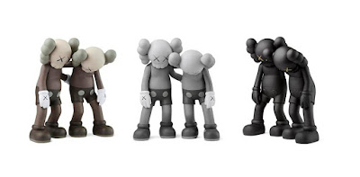 Along The Way Companion Vinyl Figure by KAWS