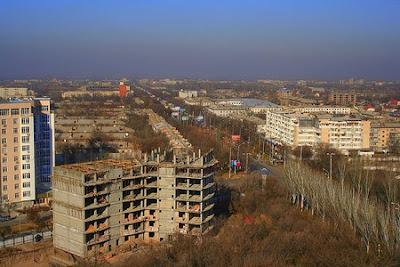 Kyrgystan's capital Bishkek