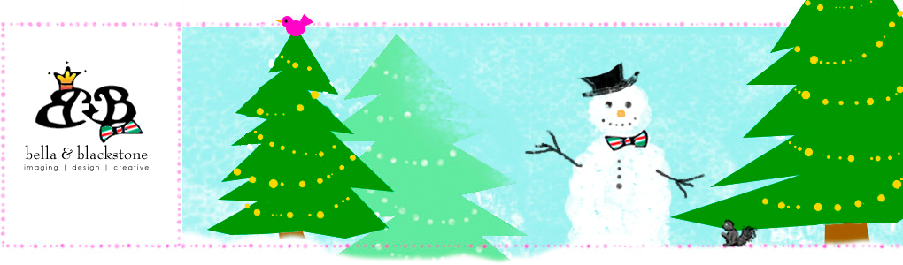 bella + blackstone Christmas blog banner via foobella.blogspot.com