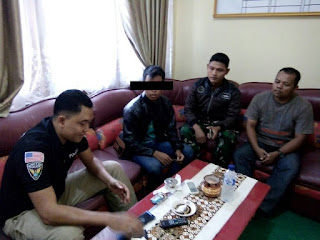 Di Duga Cermarkan Nama Baik Warga Bekasi, Pemuda Asal Gayam di Jemput Polisi