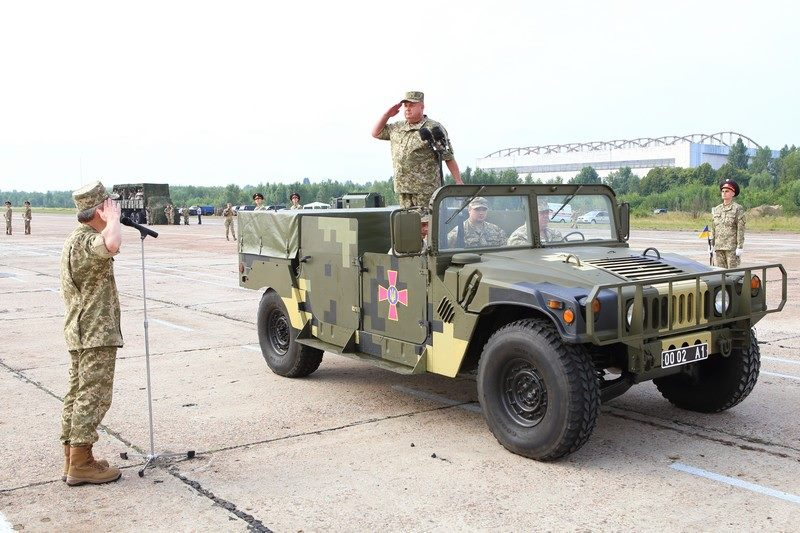 Підготовка до військового параду