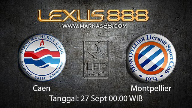 Prediksi Bola Jitu Caen vs Montpellier 27 September 2018 ( French Ligue 1 )