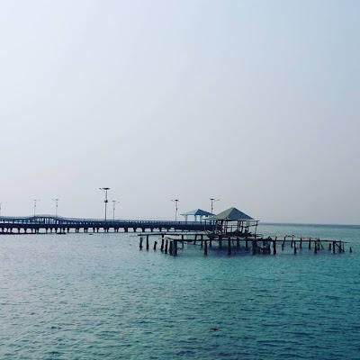 foto pemandangan pulau tidung jakarta