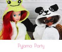 pyjama party barbie