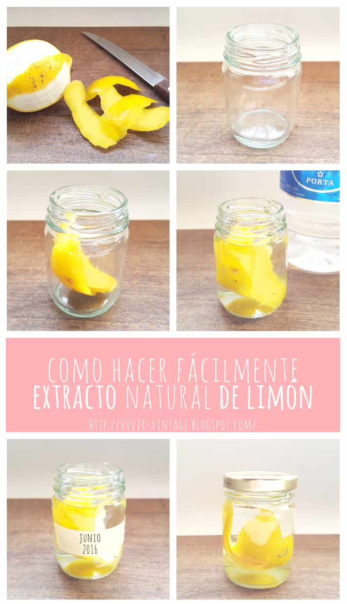 fototutorial extracto limon