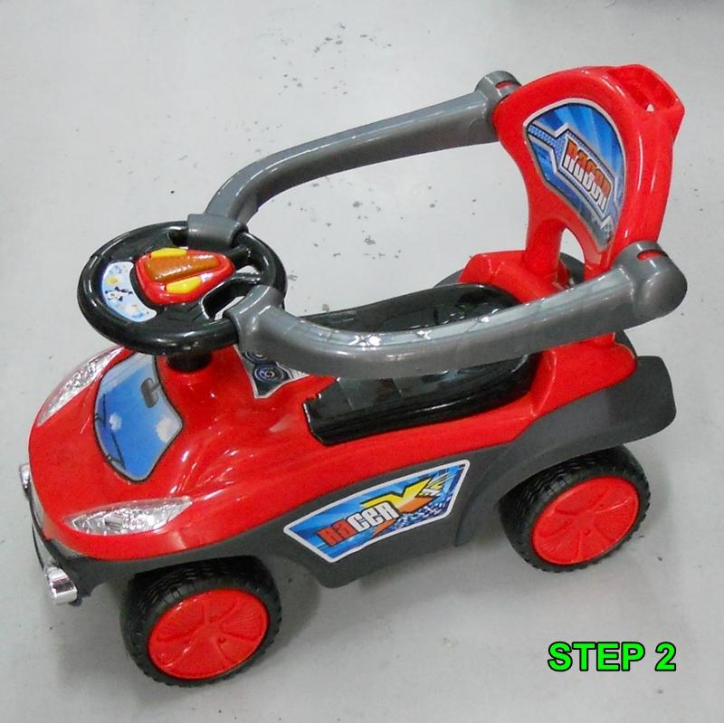 Bongbongidea Baby Toddler Stroller Walker Push Car Ubaby