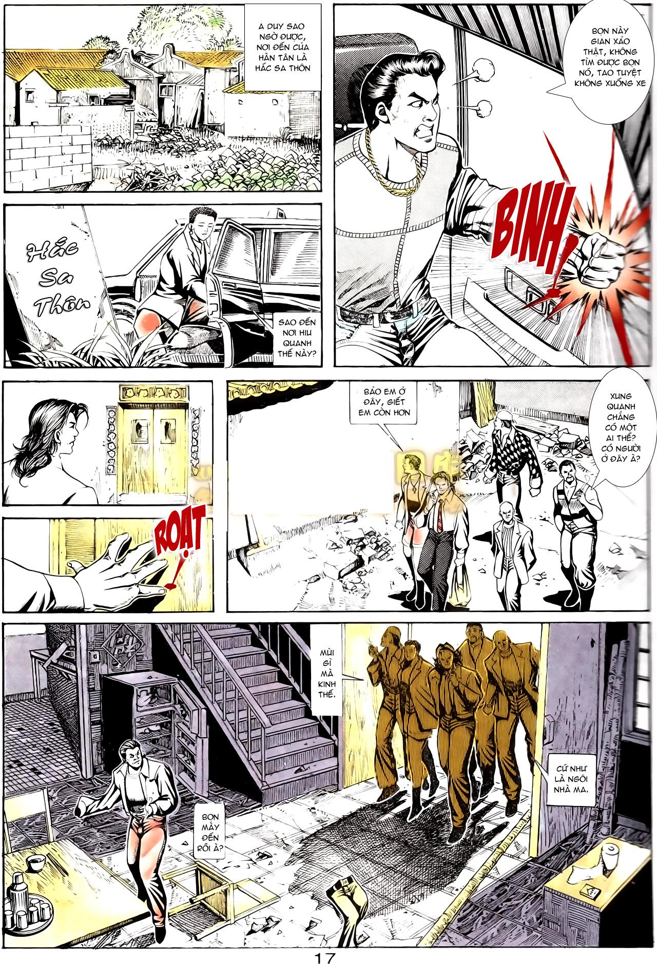 Người Trong Giang Hồ chapter 167: tội sống khó tha trang 5