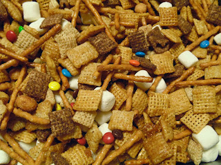 Image result for chex mix with m&ms