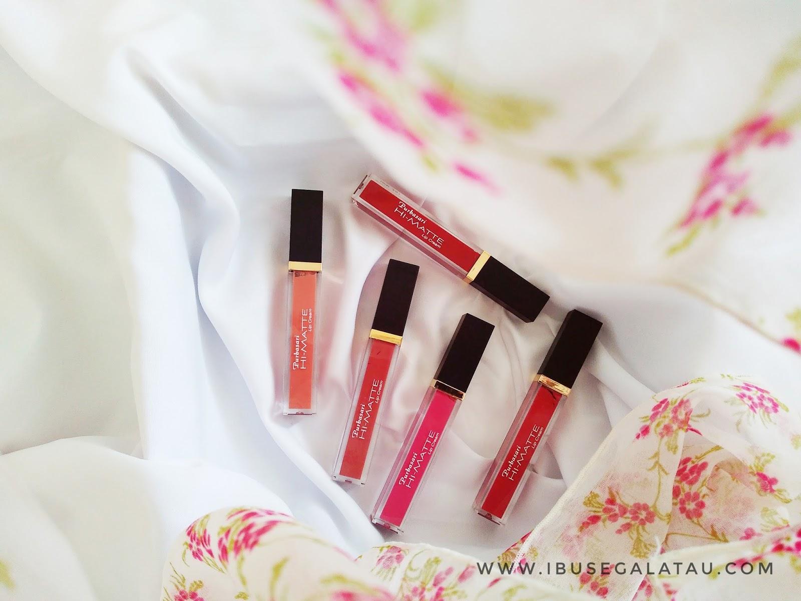 Ibu Segala Tau Review Purbasari Hi Matte Lip Cream Hydra Series Satu Hal Lagi Yang Saya Suka Adalah Teskturnya Sangat Ringan Di Bibir Berasa Nggak Pakai Lipstick Deh Bagus Banget