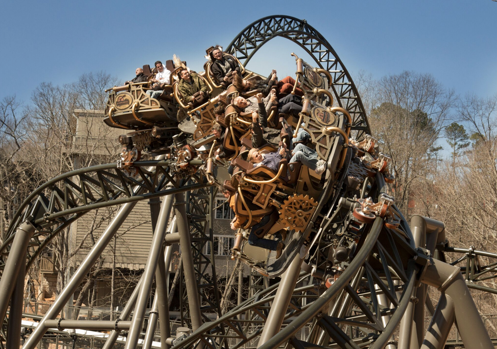 Newsplusnotes Silver Dollar Citys New Time Traveler Coaster Is Now