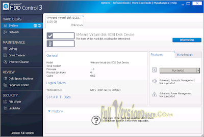 Ashampoo HDD Control Corporate 3.20.00 Full Crack