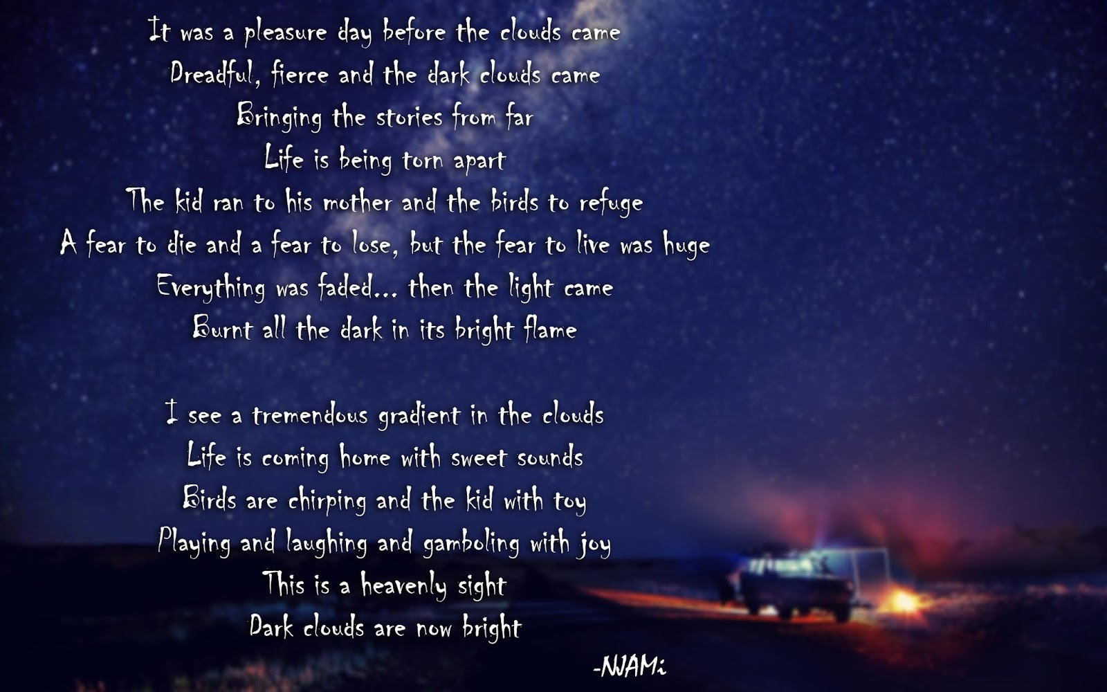 """The Light"" | Very Impressive Poem"