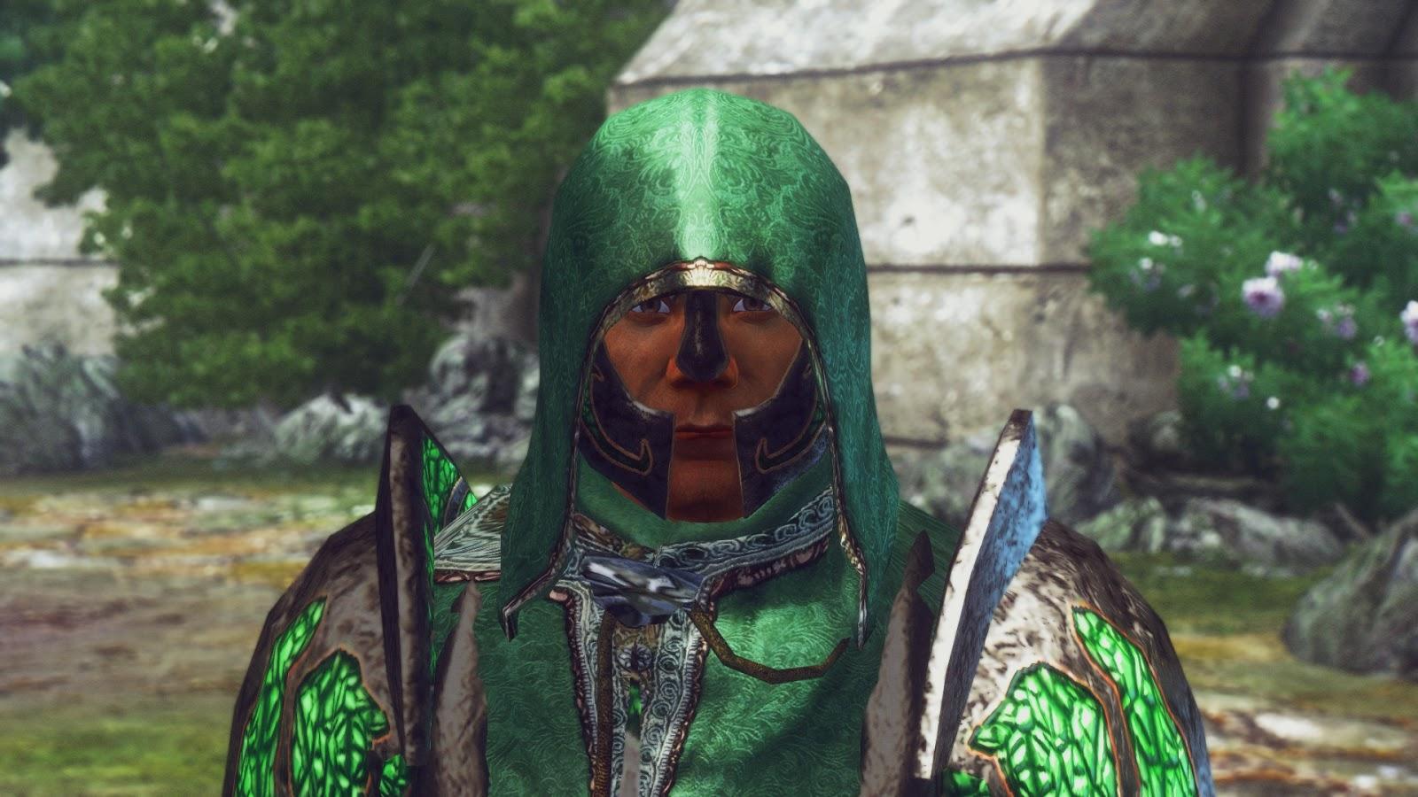 Amateur Mods by Zensalin / Mixxa77: Green Battlemage Armor